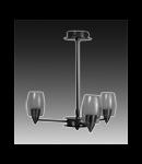 Lustra Verigo 30 cu 3 becuri - Brilux - Corpuri de iluminat