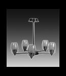 Lustra Verigo 50 cu 5 becuri - Brilux - Corpuri de iluminat