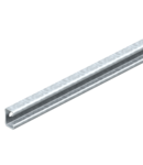 MS4022 profile rail, heavy-duty, slot 18 mm, FT | Type MS4022P0492FT