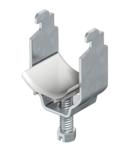 Clamp clip, single, plastic pressure trough, FT   Type 2056N 12 FT
