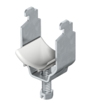 Clamp clip, single, plastic pressure trough, FT | Type 2056N 16 FT