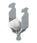 Clamp clip, single, plastic pressure trough, FT | Type 2056 12 FT