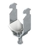 Clamp clip, single, plastic pressure trough, FT   Type 2056 28 FT