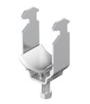Clamp clip, single, plastic pressure trough, ALU | Type 2056 22 ALU