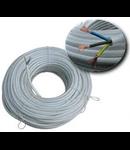 Cablu flexibil cupru 2x1 mm alb