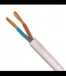 Cablu flexibil cupru 2x1.5 mm alb
