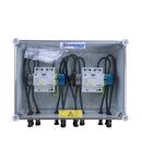 Cofret descarcator fotovoltaic 1000V/2 DC