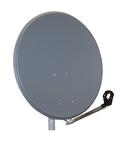 Antena satelit 80cm/75cm,Ol,39dB,sup.plia.LNB incl.,antracit