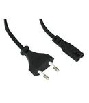 Cablu de alimentare, Euro - Euro8, negru, 1,8m