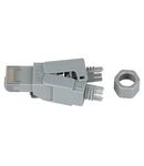 Conector UTP RJ45G Cat.6a instalare pe site