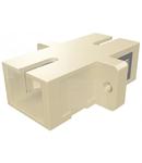 Cupla SC Simplex,Plastic,Multimode,fosf bronz,flansa,bej,ECO