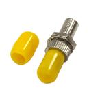 Cuplor FO ST, Metal, Singlemode, zirconiu, decupaj-D