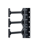 Organizator vertical de cabluri,800mm,1r,DS/DSZ/DSI/DSS 32U