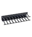 Organizator vertical de cabluri,800mm,2r,DS/DSZ/DSI/DSS 10U