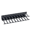 Organizator vertical de cabluri,800mm,2r,DS/DSZ/DSI/DSS 18U