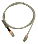 Patchcablu Cat.6 cu LED neecranat RJ45 gri 3m