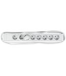 """PDU 19"""", 8xSchuko, profil PVC 1,25U, cablu conex.2m, RAL7035"""