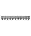 Piesa impamantare, 17 conectori, cf. EN 60728-11,QEW17-12