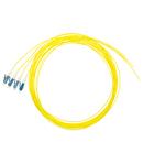 Pigtail LC, 9/125µm OS2, 2m, Easy Strip, galben,4buc