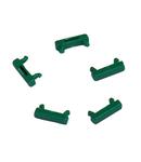 Set placuta marcare verde Patchcord cu LED (100 buc)