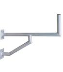 Sist.Fix.perete DP=570mm,H=250mm,2x(150x150mm),D50mm,Al