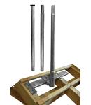 Sistem Fixare Orizontala Goliat catarg 3m inclus,Ol