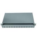 Splicebox gol pentru 12 cuple SC-duplex, 1UV, RAL7035