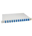 """Splicebox, 24 fibre,SC,9/125µm OS2, culisant,19"""",1UV , ECO"""