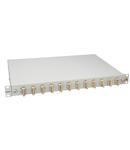 "Splicebox, 8 fibre,SC,50/125µm OM2, culisant,19"",1UV , ECO"