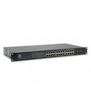 "Switch 24xRJ45 + 2xSFP 10/100/1000 (PoE+), 19"", 150W"