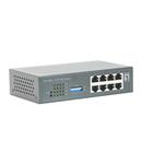 Switch 8xRJ45 10/100 (PoE), Desktop, Sursa externa, 120W