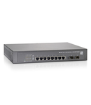 "Switch 8xRJ45 10/100/1000 (PoE+) + 2xSFP 1000, 19"", 150W"