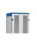 Usa metal dubla perforata 80% DS/DSZ/DSS(IP30) 45U, 600mm