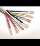 Cablu flexibil cupru 4x1.5 mm alb