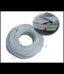 Cablu flexibil cupru 4x6 mm alb