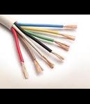 Cablu flexibil cupru 5x1.5 mm alb