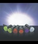 LAMPA LED AD56D-22-A-24 PORTOCALIU 22mm 24V AC/DC
