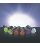 LAMPA LED AD56D-22-Y-230 GALBEN 22mm 230V AC