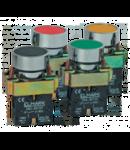 Buton comanda verde  contact NO-etans IP65