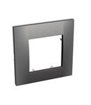 Altira - cover frame - 1 gang - graphite