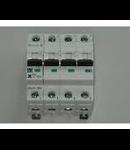 Siguranta automata 3P+N tetrapolara 2A 4,5ka Moeller