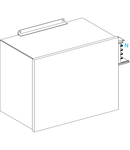 Sistem de bare capsulate Canalis - - Unit. Alimentare Pt. Ksa - 630 A - Montaj Stanga