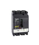 circuit breaker Compact NSX100B, 25 kA at 415 VAC, TMD trip unit 63 A, 3 poles 2d
