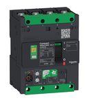 Intreruptor Compact Nsxm Micrologic Vigi 4.1 160A 4P 16Ka, Papuc/Bara Colectoare