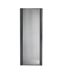 Usa cu profil curbat, perforata, neagra, NetShelter SX 42U 750 mm latime