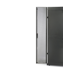 NetShelter SX 48U 600mm Wide Perforated Split Doors Grey