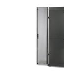 NetShelter SX 42U 750mm Wide Perforated Split Doors Grey