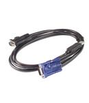Cablu USB KVM APC - 12 ft (3,6 m)