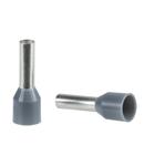 Pini Simpli Pentru Cablare- Mediu - 4 Mm² - Gri