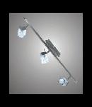 Aplica sau plafoniera Bianca 33 cu 3 becuri - Brilux - crom satin